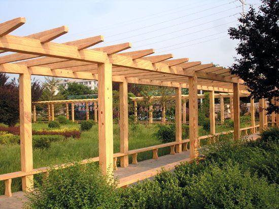 商易宝 产品列表 园林景观 园林设施 园林小品 亭廊棚架桥