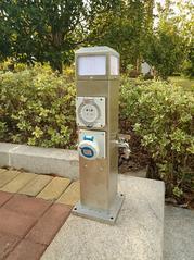 恋途 水电桩 HW-07 房车营地充电桩 供电桩