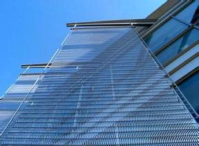 展厅金属装饰网,展厅金属网帘