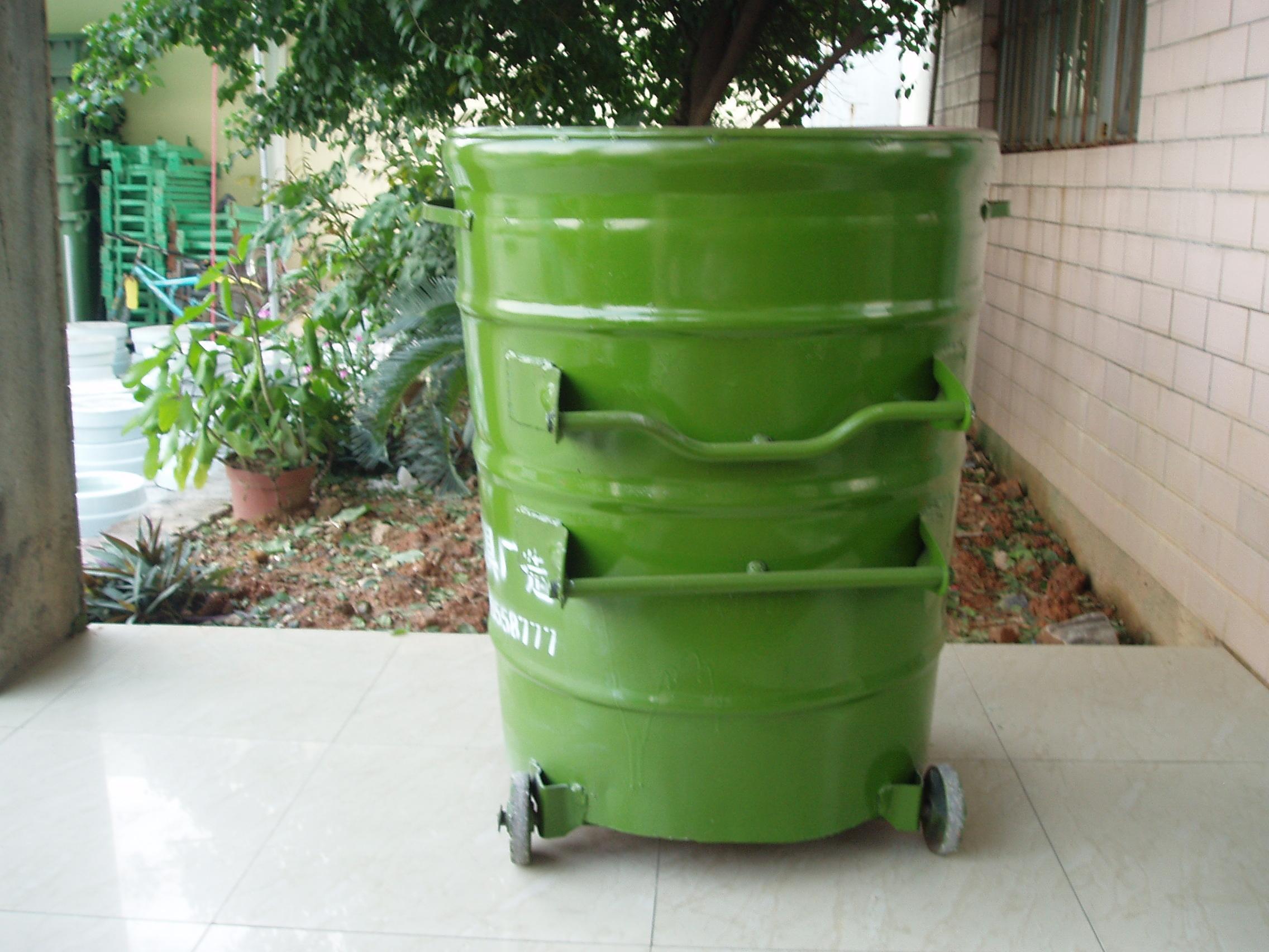 012型铁制垃圾桶_co土木在线