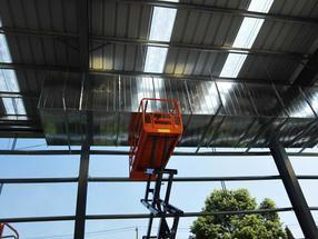 车间通风工程--通风管道配件生产定制