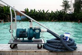 乌海景观池水底吸污设备XWJ-B手动小吸污机