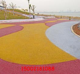 彩色透水路面 透水混凝土强化剂