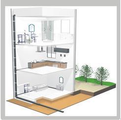 建筑同层排水系统