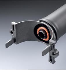 进口橡胶曝气管 微孔管式曝气器