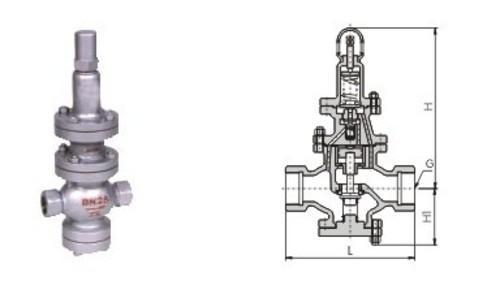 y13h-内螺纹连接-蒸汽减压阀图片