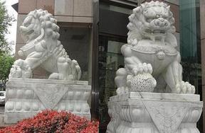 中国第一狮,石雕蹲狮走狮爬狮门狮京狮港狮