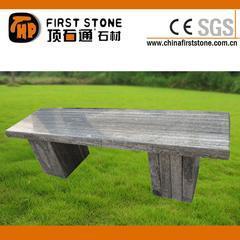 山水画磨光面长凳GCF286