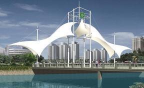 湖南膜结构公司、长沙膜结构车棚、膜结构景观、长沙张拉膜看台