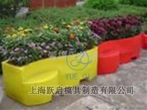 上海跃启滚塑模具-塑料园艺花盆001