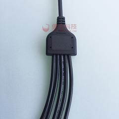 健宏y型一拖五 一拖多防水线 led路灯电源防水连接器