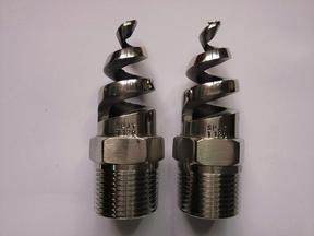 316L不锈钢耐酸防腐蚀脱硫清洗螺旋喷嘴2分3分4分6分1寸喷头