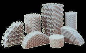 陶瓷规整波纹填料