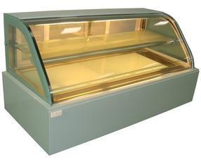 蛋糕柜、豪华双弧形两层蛋糕展示柜