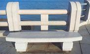 简单款式的花岗岩长凳GCF260