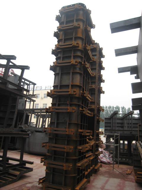 方柱墩柱钢模板