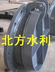 PYM-DN800mm铸铁拍门、钢制拍门、不锈钢拍门