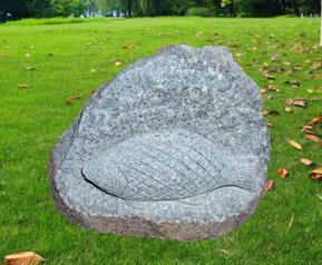 花岗岩2D鱼儿雕刻GB551