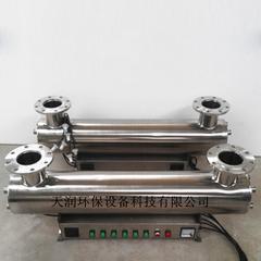 304不锈钢材质处理水量60T/H紫外线消毒器