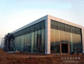 哈尔滨玻璃幕墙工程