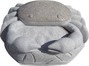 花岗岩螃蟹雕刻GAB534