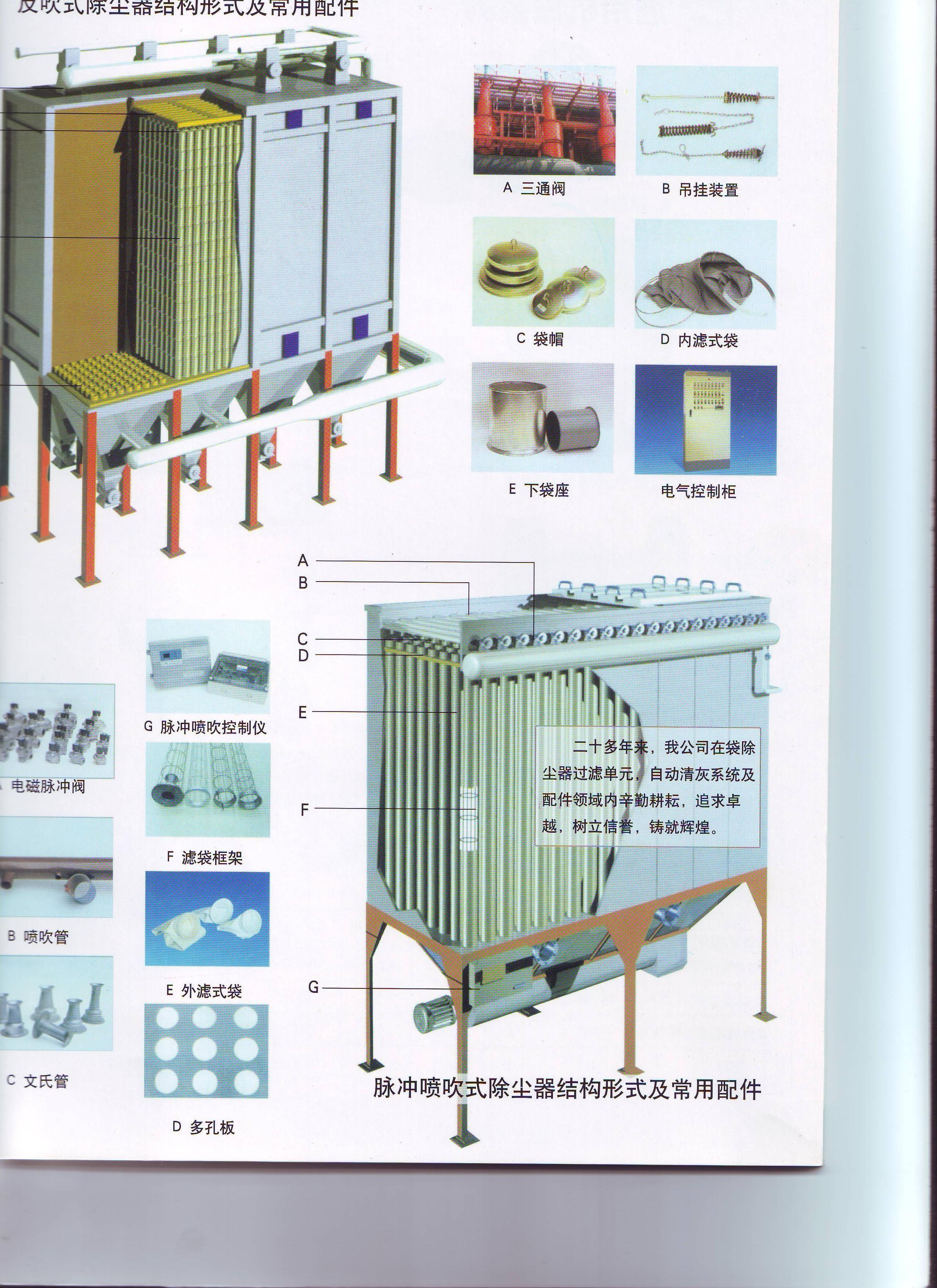 商易宝 产品列表 环境保护 空气净化 除尘设备 布袋除尘器  点击查看