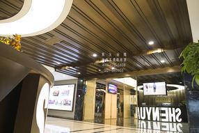 杭州不锈钢吊顶天花 拉丝仿古铜复古不锈钢吊顶