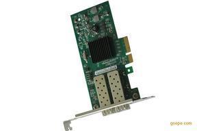 英特尔双端口PCI-E光纤网卡