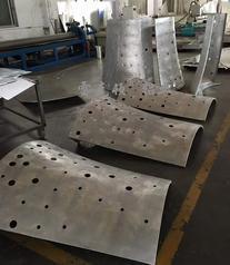 湖南曲面造型铝单板吊顶加工
