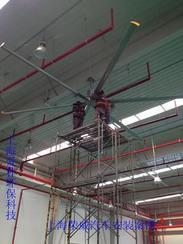 安装工业节能吊扇 大型工厂大风扇工厂降温专用