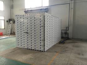 小型KHG-02荔枝干烘干机厂家 温伴优质荔枝烘干机批发/采购商