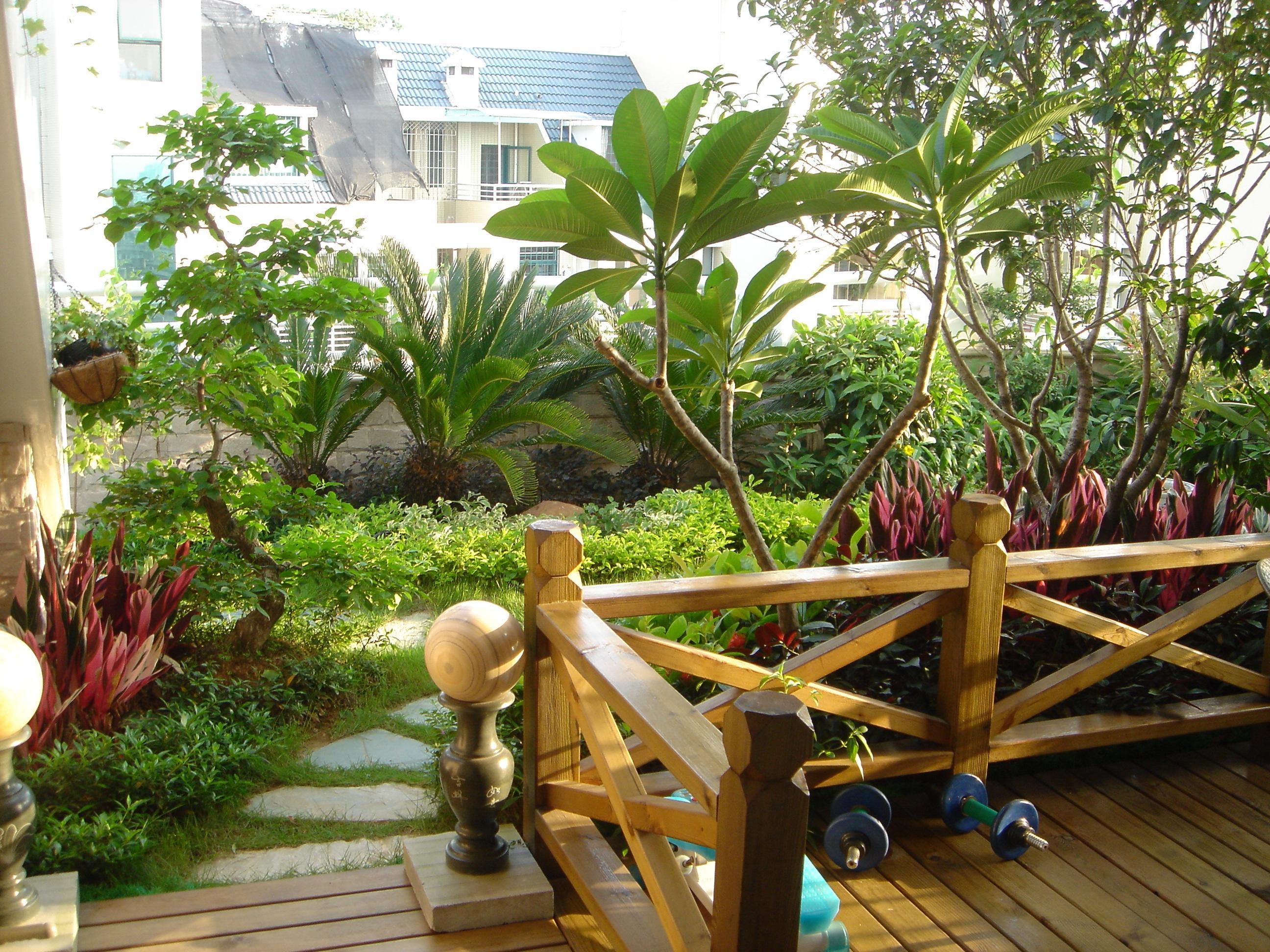 图楼顶花园设计实景图花园设计实景图私家花园