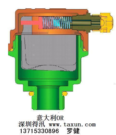 中央空调自动排气阀