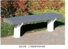 塑胶木公园椅SQ1-018|公园休闲椅|户外公园椅|公园休息椅|善群景观