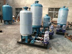NZG(P)定压补水装置~张夏供水换热