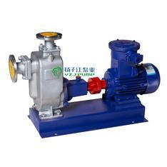 ZW型不锈钢防爆自吸排污泵|耐腐蚀自吸污水泵