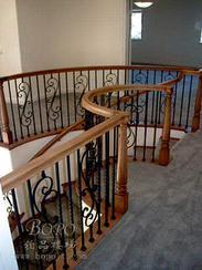 上海楼梯  复式房楼梯 铁艺楼梯