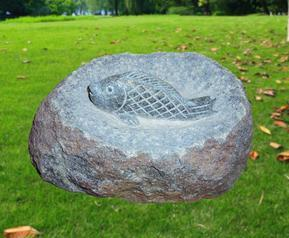 花岗岩鱼雕GAB550