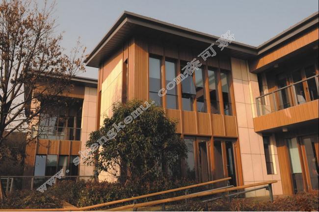 嘉兴森可嘉仿木厂家供应户外耐热防潮节能阻燃15224外墙板