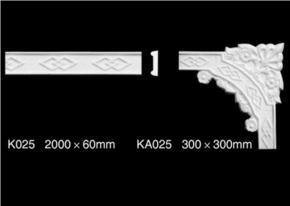 佳艺美石膏制品 石膏线条 石膏花角线K025