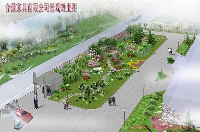 学校广场景观设计