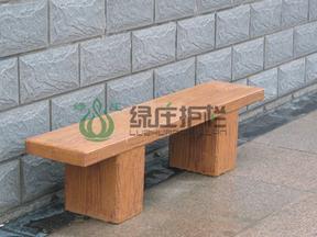 仿木凳,平板凳,园林小品,休憩桌椅