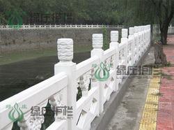 仿石,仿汉白玉栏杆,河道栏杆,仿石护栏