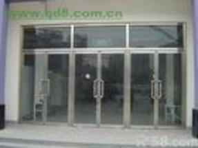北京安装玻璃门 玻璃隔断 玻璃门维修