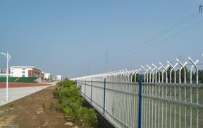 厂家直销车间隔离网 仓库隔离围栏 锌钢围墙护栏