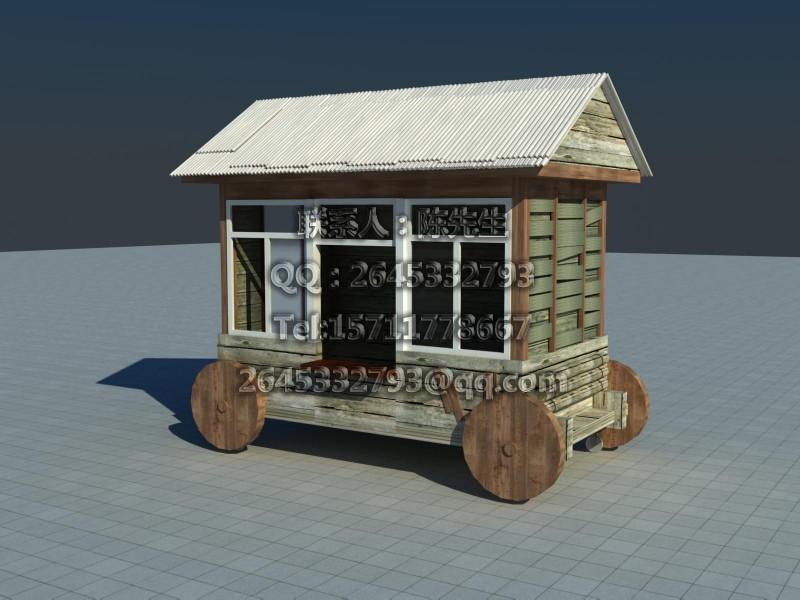 万科金色梦想住宅小区街道路广场售卖货亭车小房子