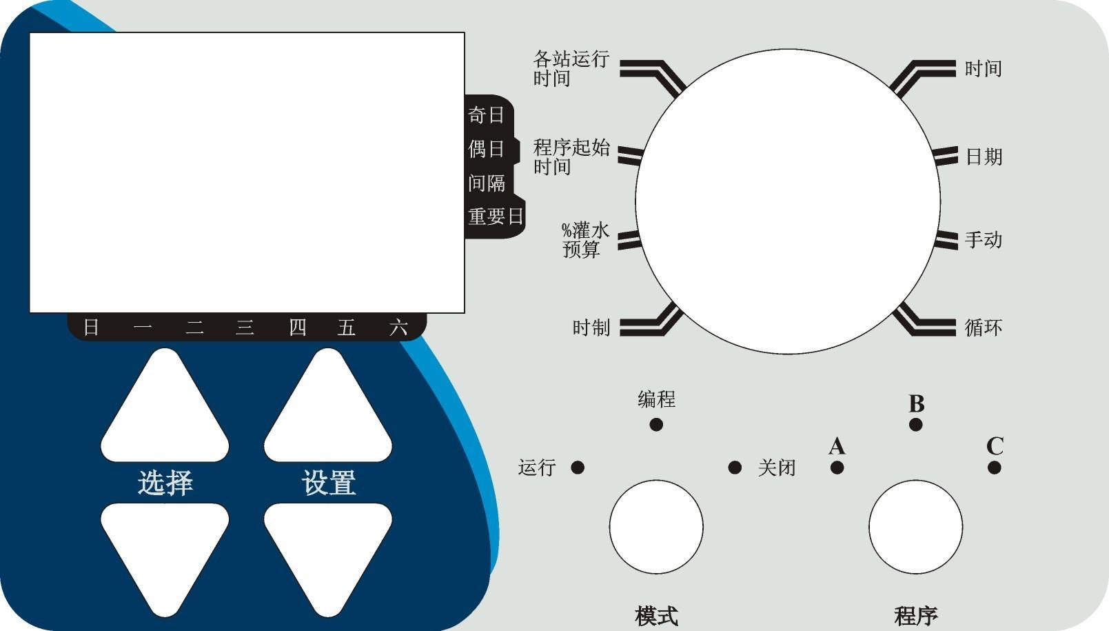 园林灌溉中文控制器