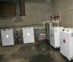 厂家直销爱阁100kw大型工业用电锅炉 厂房采暖设备