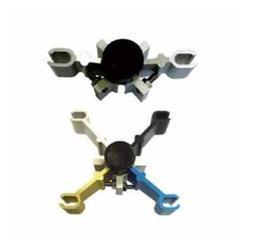 玻璃背栓星型爪件体系