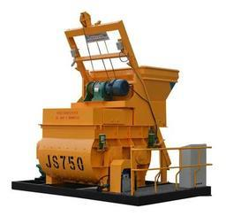昌利建机JS750双卧轴强制式混凝土搅拌机